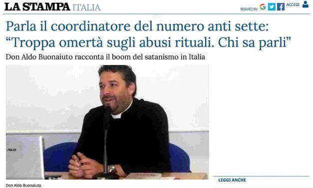 """Don Aldo a La Stampa parla dell'emergenza """"sette"""""""