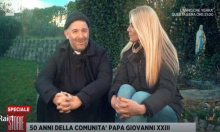 """Lo speciale di """"Storie Italiane"""" sulla Giovanni XXIII di don Benzi"""