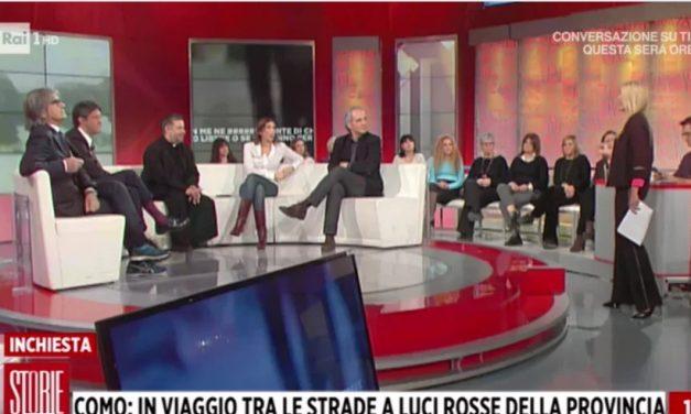 """[ VIDEO ] Don Aldo Buonaiuto a Storie italiane : """"NO ALLE CASE CHIUSE"""""""