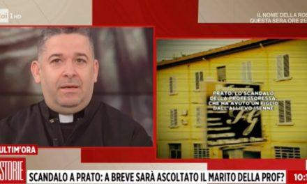 """[ VIDEO ] Don Aldo Buonaiuto a Storie Italiane: """"CHE COSA STIAMO TRASFERENDO AI NOSTRI RAGAZZI!?"""""""