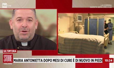 [VIDEO] Storie Italiane, don Aldo Buonaiuto : Maria Antonietta, dopo mesi di cure è di nuovo in piedi