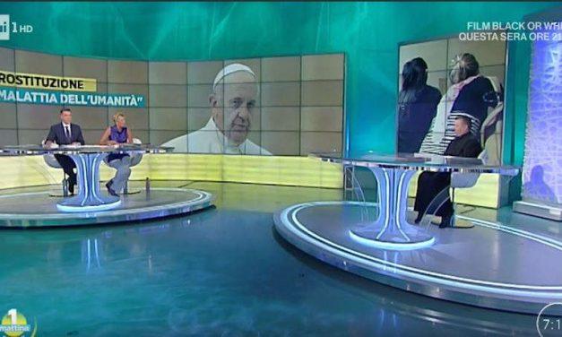 """[ VIDEO ] Don Aldo ospite a Uno Mattina per """"Donne Crocifisse"""""""