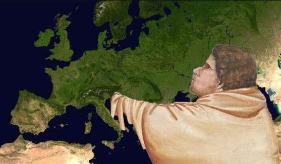L'EUROPA BACIATA DA GIUDA