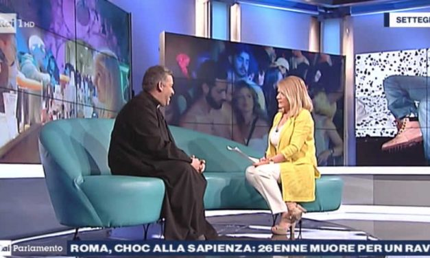 [ VIDEO ] DON ALDO A RAI PARLAMENTO: 26ENNE MUORE PER UN RAVE ALLA SAPIENZA