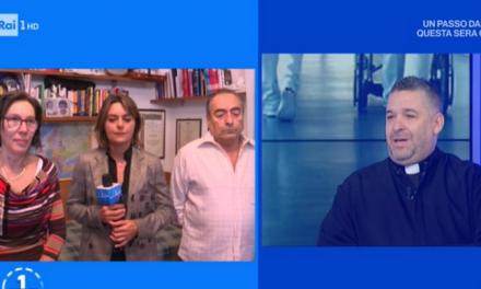 """[ VIDEO ] Don Buonaiuto a Uno Mattina sul fine vita : """"L'amore è la vera medicina per vivere"""""""