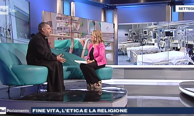 [ VIDEO ] Don Aldo a Rai Parlamento : fine vita, l'etica e la religione