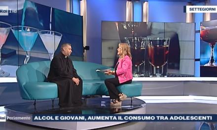 [ VIDEO ] Don Aldo a Rai Parlamento: Alcol e giovani, aumenta il consumo tra adolescenti