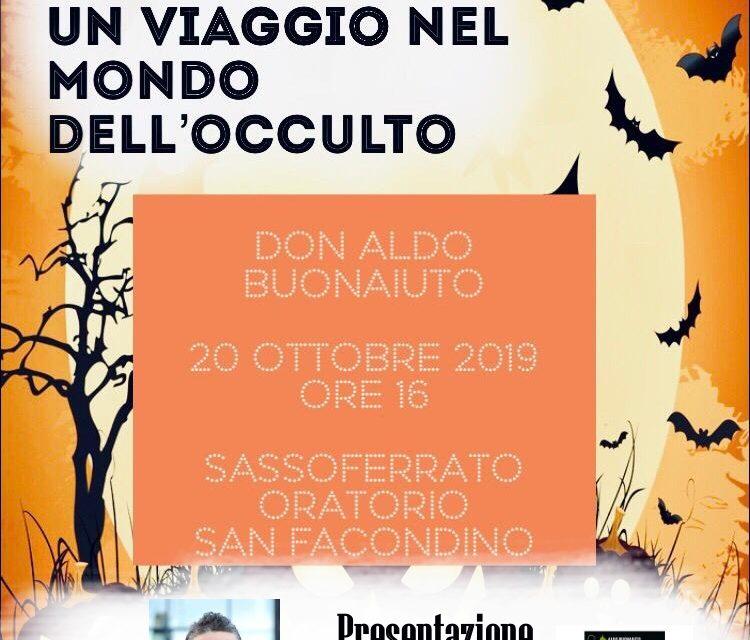 [INCONTRO] Don Aldo presenta a Sassoferrato il libro Halloween, lo scherzetto del diavolo