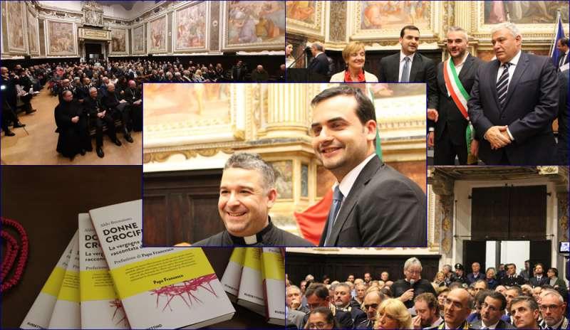 """A Fabriano si parla di """"donne crocifisse"""" e don Aldo Buonaiuto redarguisce il Governatore Fontana: """"Venga a conoscere questo dramma"""""""