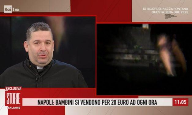 """[ VIDEO ] Don Buonaiuto a Storie Italiane: """"Bisogna che la gente scenda in strada per i propri figli"""""""