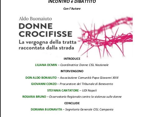 """[ INCONTRO – 9 DICEMBRE ] Don Aldo parlerà del libro """"Donne Crocifisse"""" – CISL"""