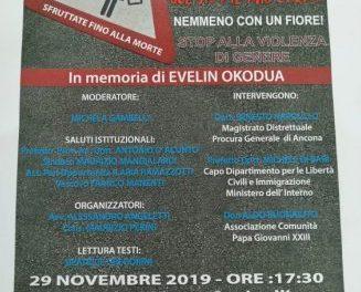 [Conferenza] Senigallia 29 Novembre 2019