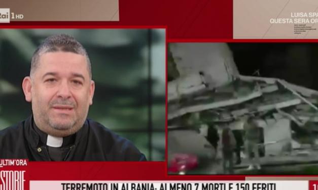 """[ VIDEO ] Don Aldo a Storie Italiane : """"L'Italia non lasci sola l'Albania"""""""