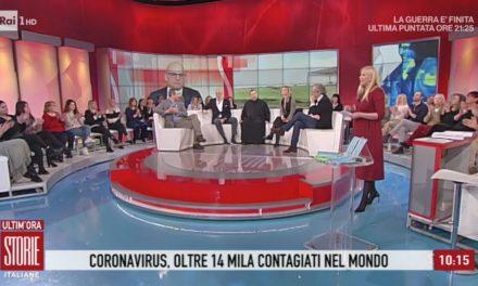 """[ VIDEO ] Don Buonaiuto a Storie Italiane: """"Il Vaticano invia in Cina 700mila mascherine"""""""