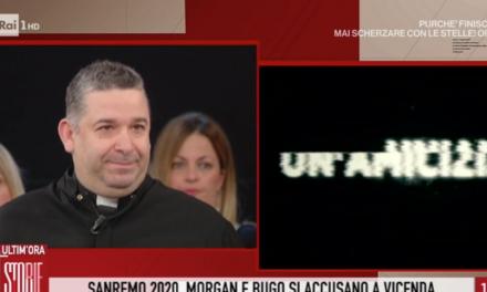 [ VIDEO ] Speciale sanremo, Don Buonaiuto a Storie Italiane