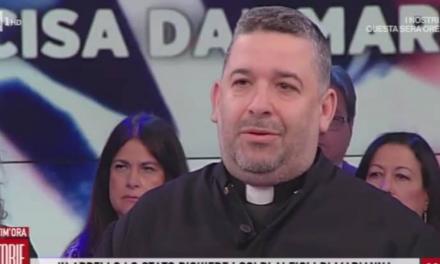 [ VIDEO ] Don Aldo a Storie Italiane sul femminicidio di Marianna
