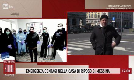 [VIDEO] Don Aldo a Storie Italiane: Coronavirus, occupazioni delle case e contagi nelle case di riposo