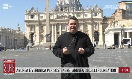 """[VIDEO] """"Abbracciamo i nuovi crocifissi dal Covid-19"""" – don Aldo a Storie Italiane"""