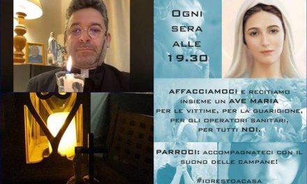 [EDITORIALE] In un mese due milioni di Ave Maria dai balconi d'Italia