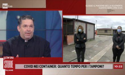 """[VIDEO] Foggia, emergenza coronavirus nei container a San Severo. Don Buonaiuto: """"La pandemia aumenta le disuguaglianze"""""""