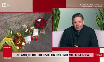 [VIDEO] Medico ucciso a Milano, sparito il telefonino. | Don Aldo a Storie Italiane