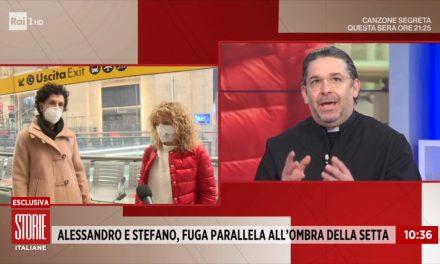 [VIDEO] L'ombra delle sette nella scomparsa di Alessandro e Stefano – Don Aldo a Storie Italiane